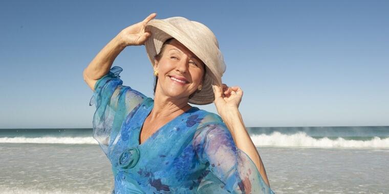 4 benefici del mare contro i disturbi della menopausa