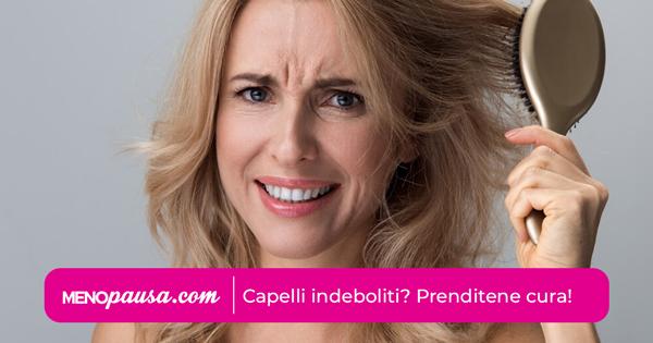 Come rimediare alla caduta dei capelli in menopausa?